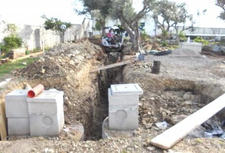 Impianto di subirrigazione